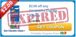 $2.00 off any Children's Claritin Allergy
