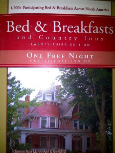 Bed & Breakfasts and Country Inns Book