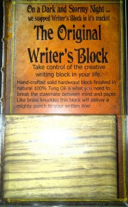 Original Writer's Block