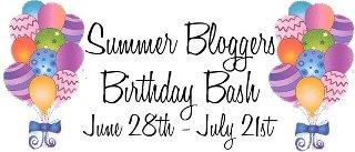 Summer Bloggers Birthday Bash Banner