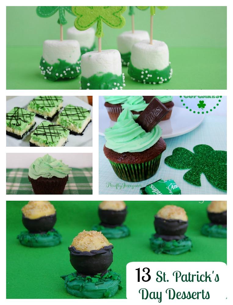 13 St Patrick's Day Desserts