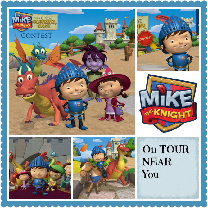 Mike The Knight on Tour