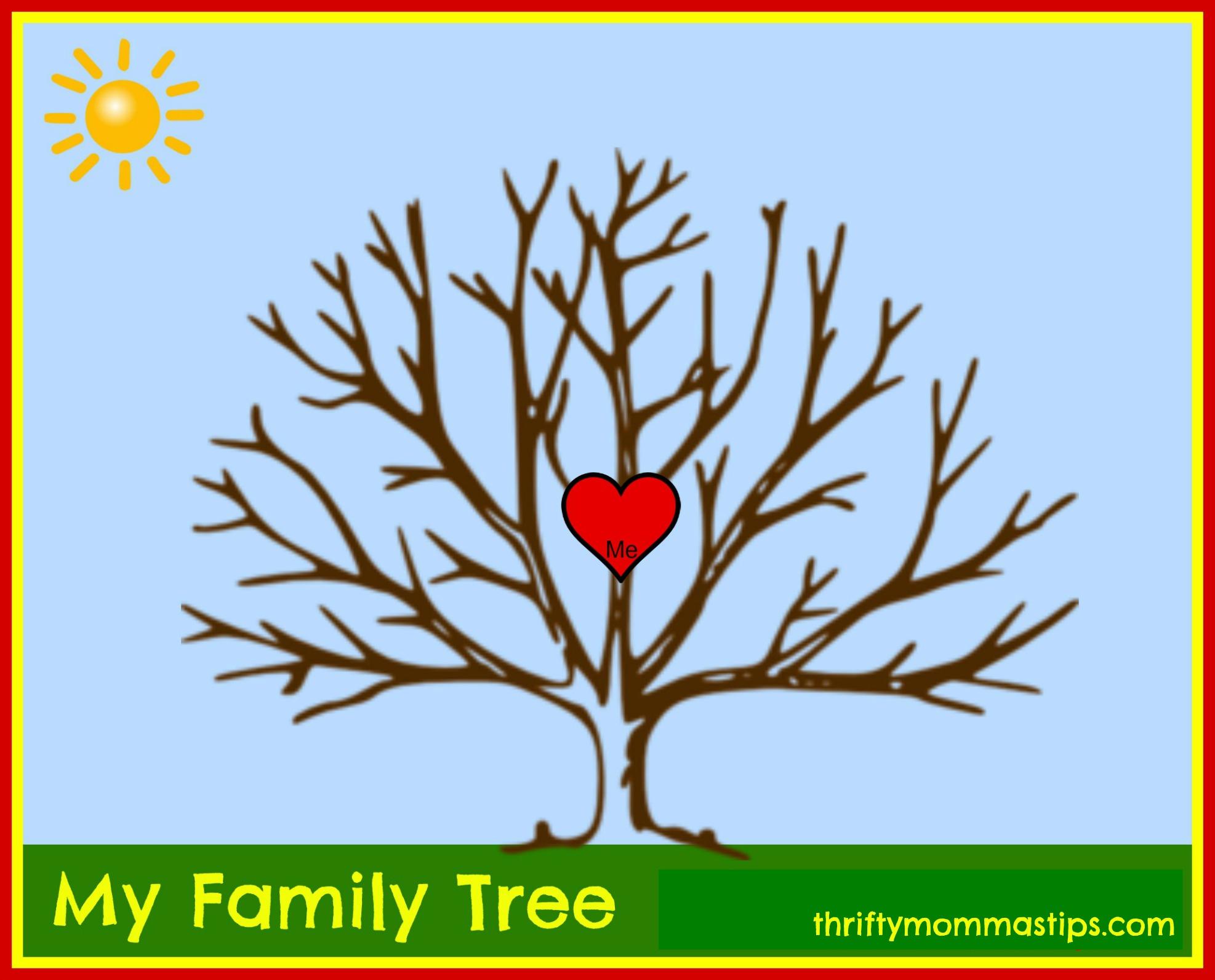 Alternative family tree for adoptive families