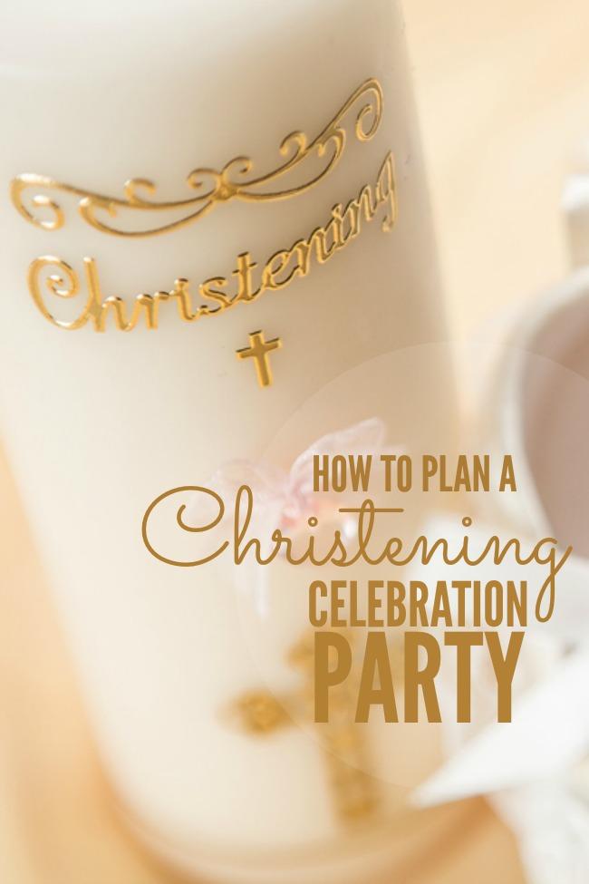 christening celebration party