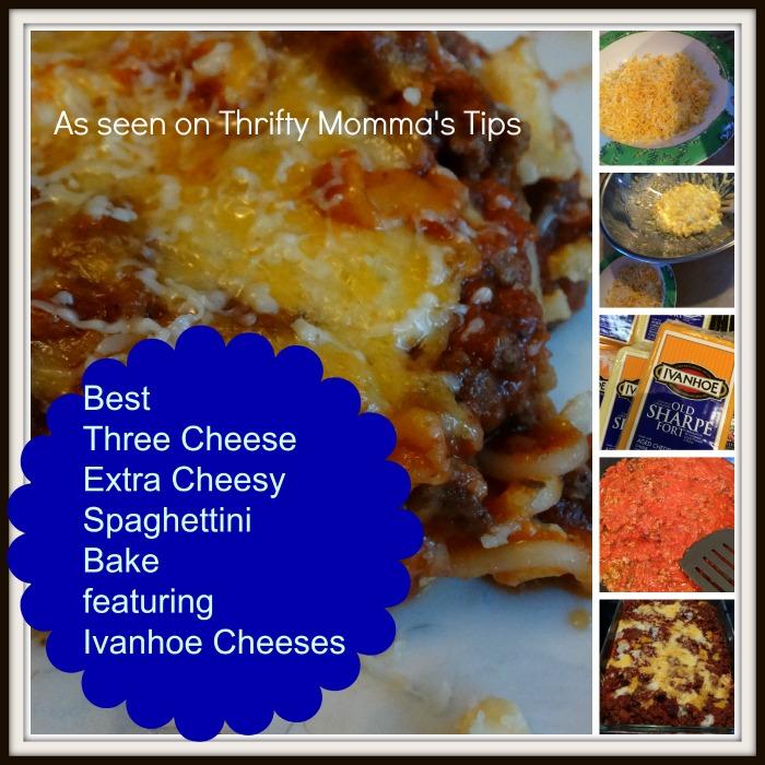 Best-Three-Cheese Extra-Cheesy-Spaghettini-Bake