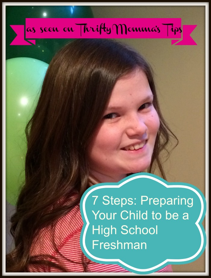 Steps – Preparing Your Child to be a High School Freshman