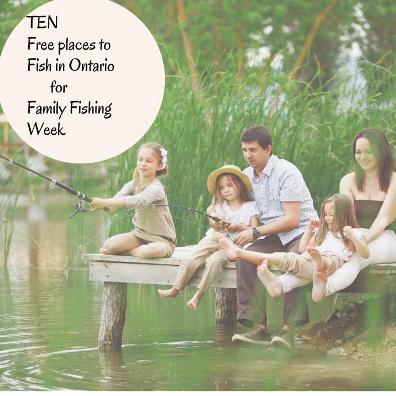free family fishing