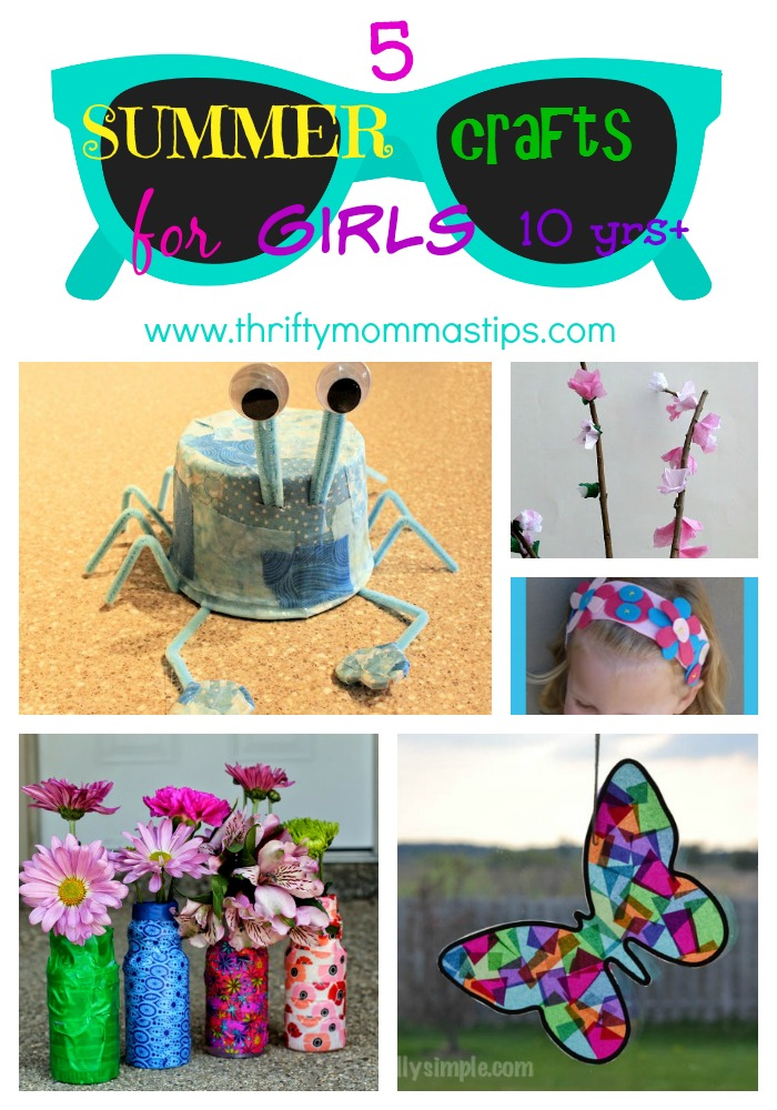 Summer Teen Craft Ideas