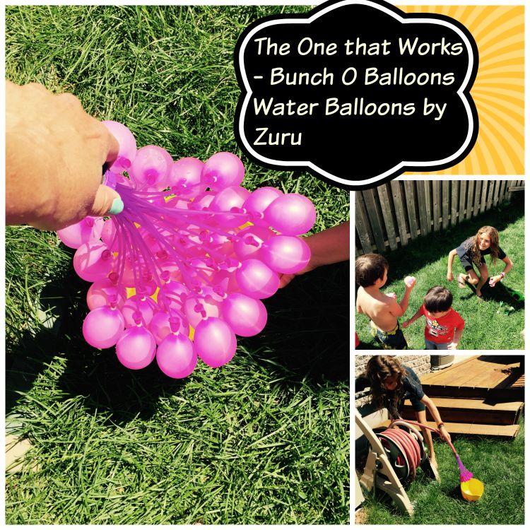 bunch o balloons water balloons