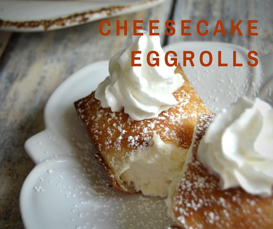 Cheesecake Eggrolls