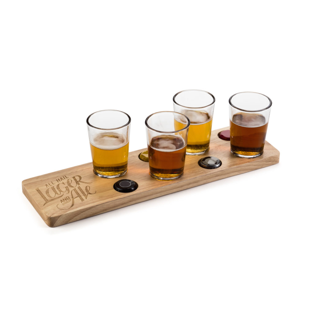 Beer Flight With 4 Glasses - $29.95
