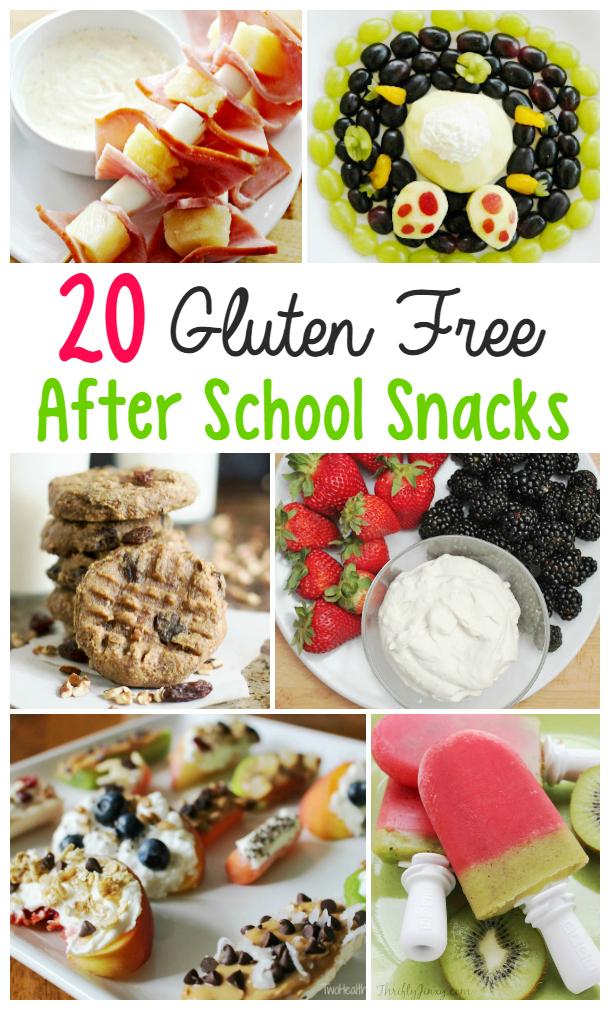 gluten free after school snacks