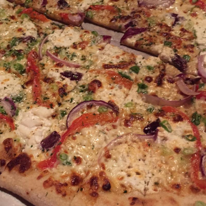 American Flatbread pizza