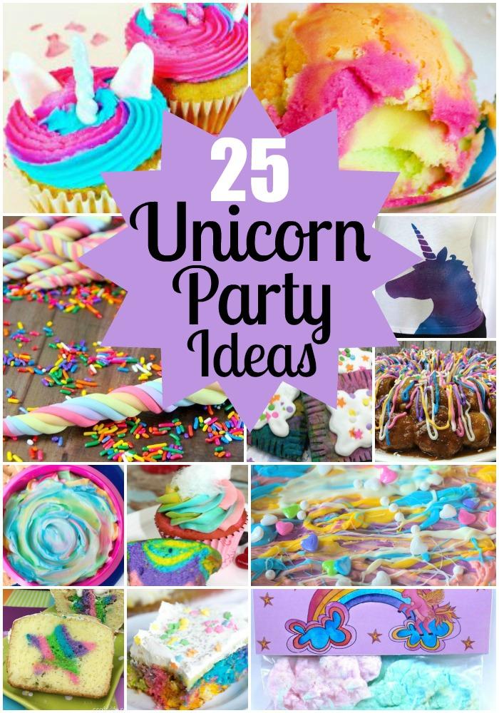 21 Whimsical Unicorn Party Ideas Thrifty Mommas Tips