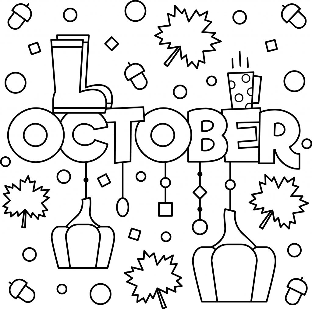october_colouring_page
