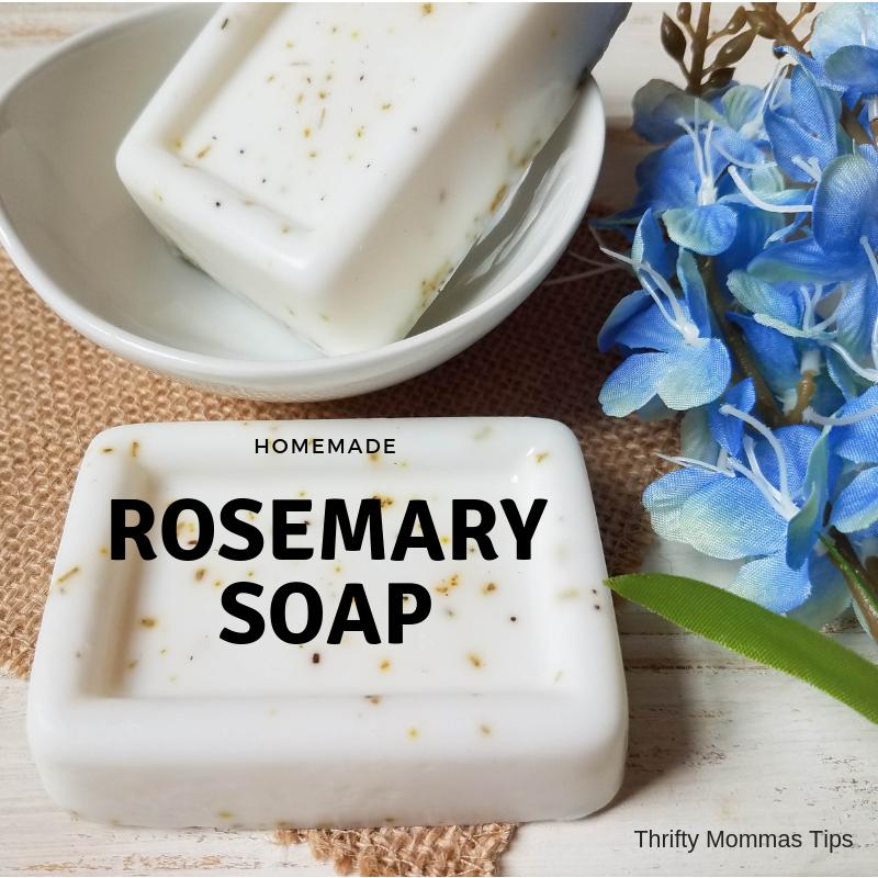 homemade_rosemary_soap_in_a_dish