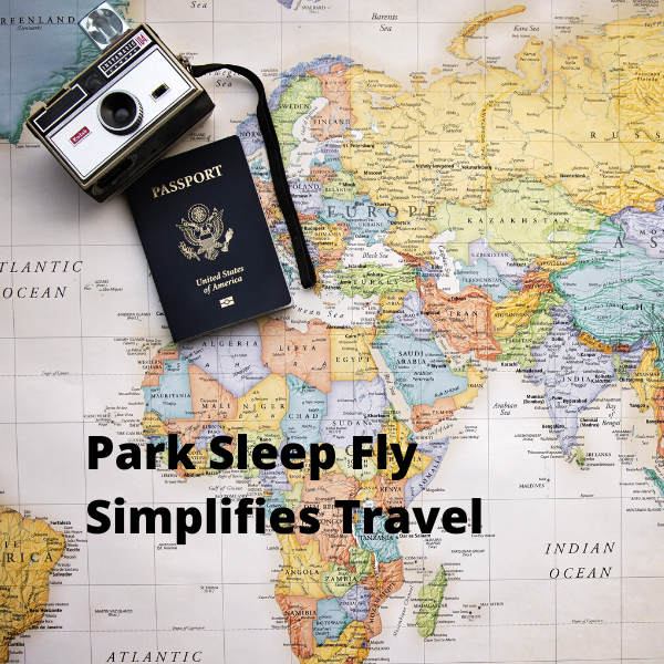 park sleep and fly map image