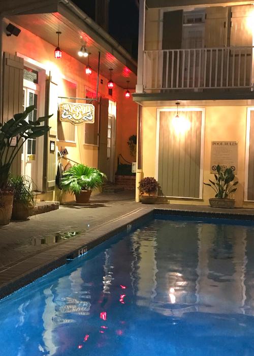 Dauphine Orleans pool