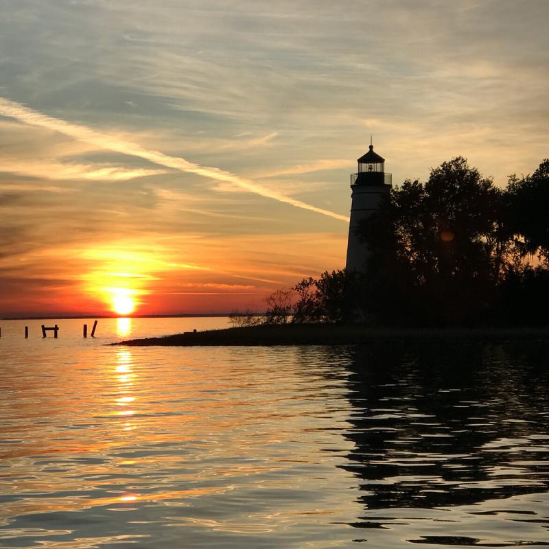 tchefuncte lighthouse north shore Louisiana