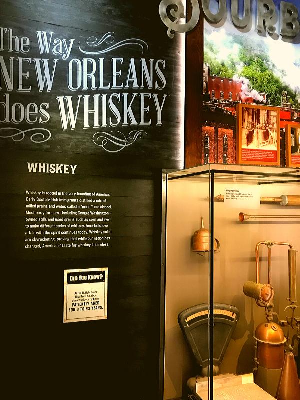 Sazerac House and whiskey distillery