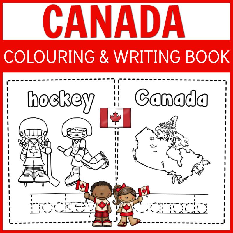 canada colouring book