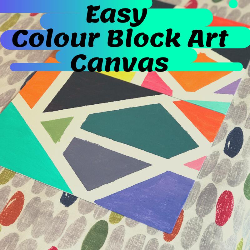 colour Block art