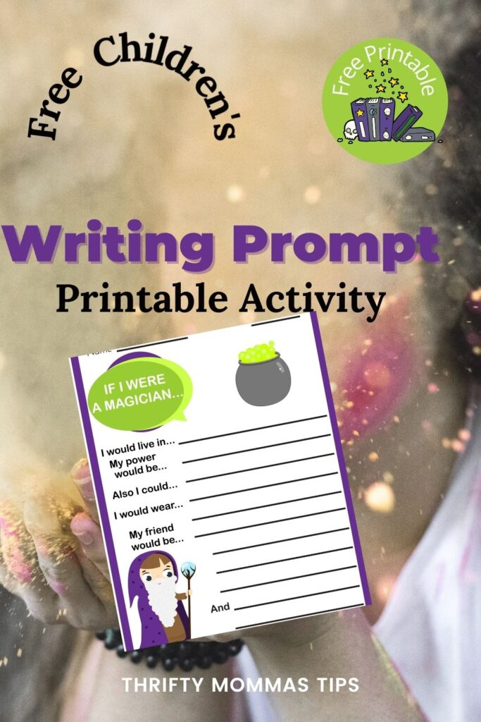 magician writing prompt pin