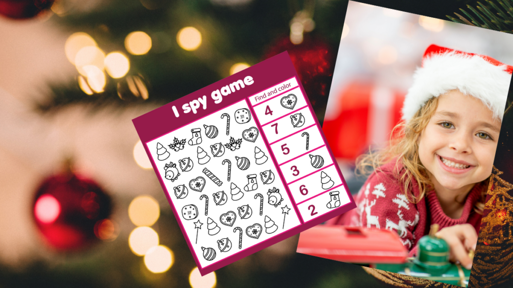 Easy Christmas I Spy Game for Preschoolers — Thrifty ...