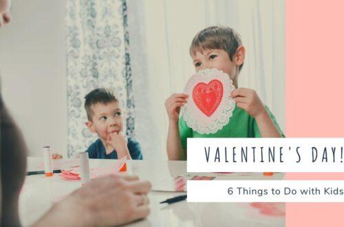 Valentine's Day with kids